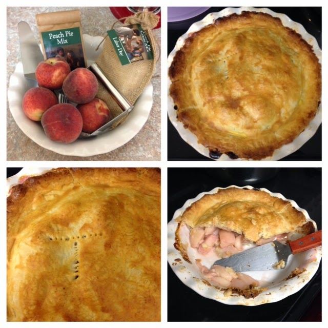 peach pie 4 photos