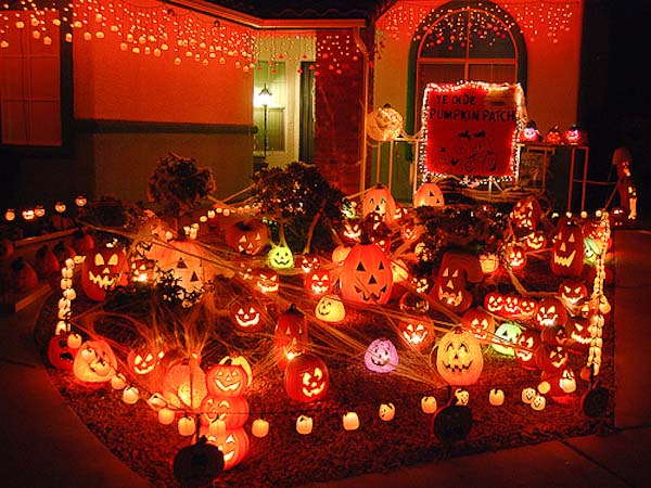 Decoracion-de-Halloween-en-Estados-Unidos